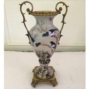 Westmen Lights Antique Bronze Porcelain Table Vase