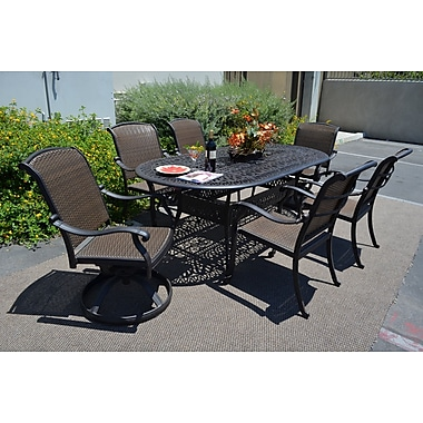 Darby Home Co Adela 7 Piece Dining Set