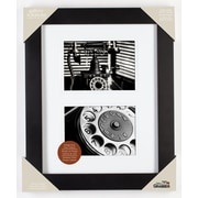 Red Barrel Studio Airfloat Matted Picture Frame