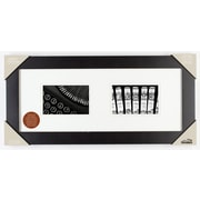 Red Barrel Studio Black Matted Picture Frame