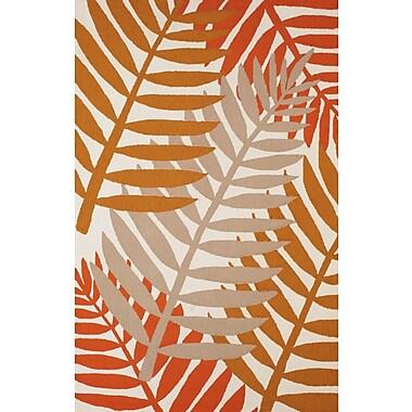 Panama Jack Sunbelt Hand-Woven Natural/Gray Indoor/Outdoor Area Rug; 7'10'' x 9'10''
