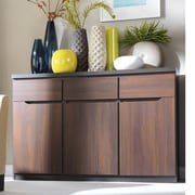 Contemp Style July 3 Drawer 3 Door Accent Cabinet