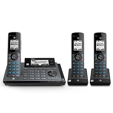 AT&T CLP99387 DECT 6.0 Expandable Cordless Phone, Black