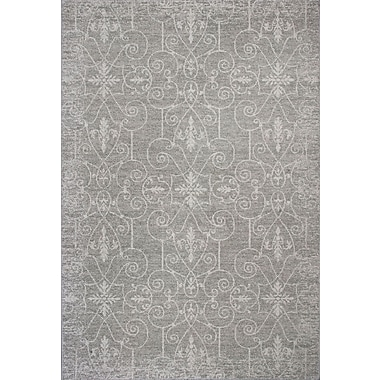Charlton Home Appleridge Oatmeal Area Rug; 7'10'' x 11'2''