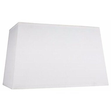 Aspen Creative Corporation 16'' Cotton Rectangle Lamp Shade