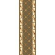 Astoria Grand Barwin Fleur-De-Lis Green Area Rug; Runner 2'2'' x 7'11''