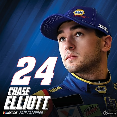 Tf Publishing 2018 Chase Elliott Wall Calendar 12