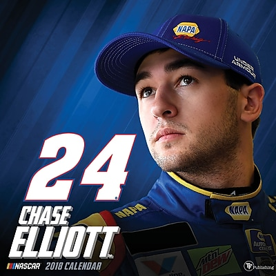 Tf Publishing 2018 Chase Elliott Wall Calendar (18-1624)