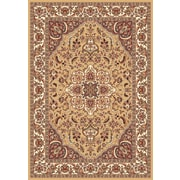 Astoria Grand Barwicks Beige/Ivory Medallion Rug; 1'8'' x 2'7''