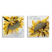 "Sunflower Oil Painting Canvas, 40"" x 40"", 2/Pack (2021-PX1701-S2)"