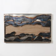"Metal On Wood Wall Decor, 36"" x 2"" x 22"" (7168-TX5437-00)"