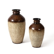 Duo Tone Metal Vase, 2/Pack (9299-TX7068-S2)