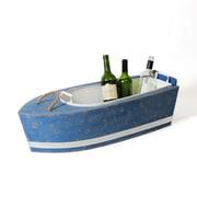 Metal Boat Shape Cooler Bucket (9299-TX7082-00)