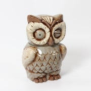 "Owl Ceramic Canister, 5.5"" x 4.75"" x 8"" (2488-TX6155-00)"