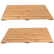 Cathay Importers Bamboo Bath Mats, 2/Pack
