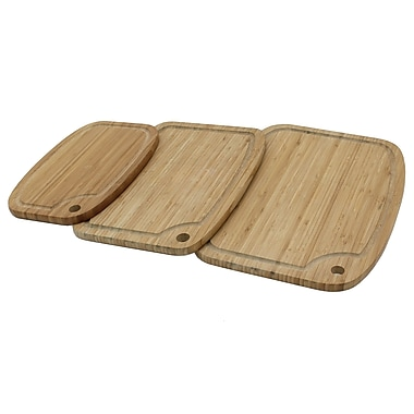 Cathay Importers Bamboo Cutting Boards, 3/Pack