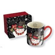 Lang Chalkboard Snowman 14oz Ceramic Mug