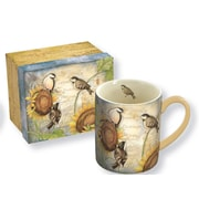 Lang – Tasse en céramique « Sunflower Birds » 14 oz