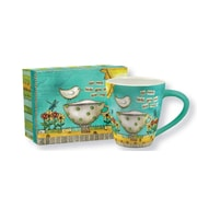 Lang Color My World 17oz Ceramic Cafe Mug
