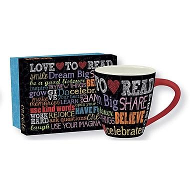 Lang Dream Big 17oz Ceramic Cafe Mug
