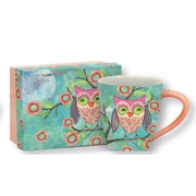 Lang Happy Owl 17oz Ceramic Cafe Mug.