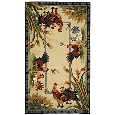 August Grove Isabella HK56A Country Rug; Rectangle 7'9'' x 9'9''