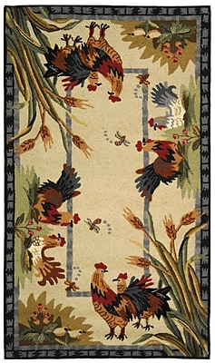 August Grove Isabella HK56A Country Rug; Rectangle 3'9'' x 5'9''