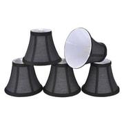 Aspen Creative Corporation 6'' Cotton Bell Candelabra Shade (Set of 5)