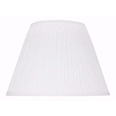 Aspen Creative Corporation 13'' Cotton Empire Lamp Shade