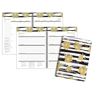 2018 Staples® Geometric Weekly/Monthly Planner, 8