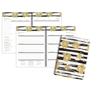 """2018 Staples® Geometric Weekly/Monthly Planner, 8""""x11"""" (26253-18)"""