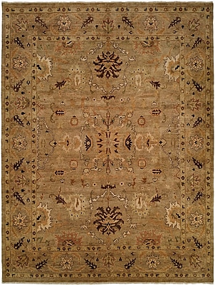 Wildon Home Eritrea Hand-Knotted Brown Area Rug; 3' x 5'