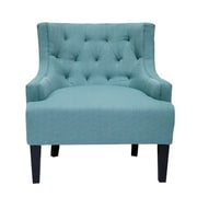 Alcott Hill Erwin Living Room Barrel Arm Chair; Laguna