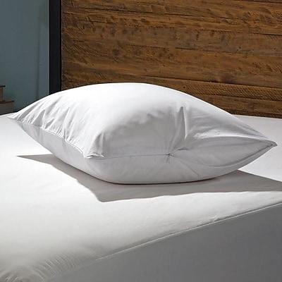 Alwyn Home Hypoallergenic Waterproof Bed Bug Zipper Pillow Protector (Set of 2); Standard / Queen