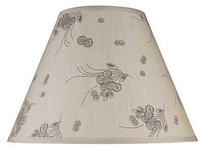 Aspen Creative Corporation 15'' Silk Empire Lamp Shade
