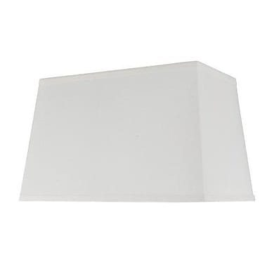Aspen Creative Corporation 16'' Cotton Rectangle Lamp Shade