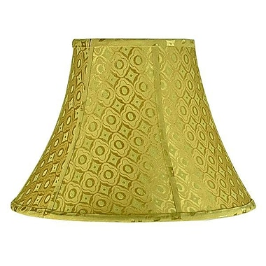Aspen Creative Corporation 18'' Fabric Bell Lamp Shade