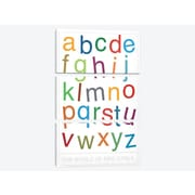 iCanvas 'The World of Eric Carle Alphabet' Textual Art Multi-Piece Image on Canvas