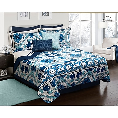 August Grove Hershel 3 Piece Quilt Set; Full/Double