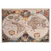 iCanvas 'Antique World Map' Graphic Art Print on Canvas