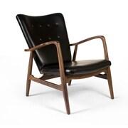 Aeon Furniture Addison Leather Arm Chair