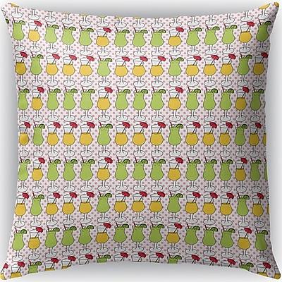 Brayden Studio Crooks Indoor/Outdoor Throw Pillow; 18'' H x 18'' W x 4'' D