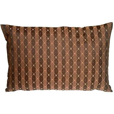 Astoria Grand Summerhill Stripes Lumbar Pillow; Beige
