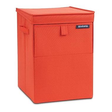Brabantia Stackable Laundry Hamper; Warm Red