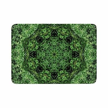 East Urban Home Nick Nareshni Forest Mandala Geometric Memory Foam; 0.5'' H x 17'' W x 24'' D