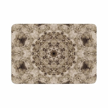 East Urban Home Nick Nareshni Sandy Beach Mandala Memory Foam Bath Rug; 0.5'' H x 24'' W x 36'' D