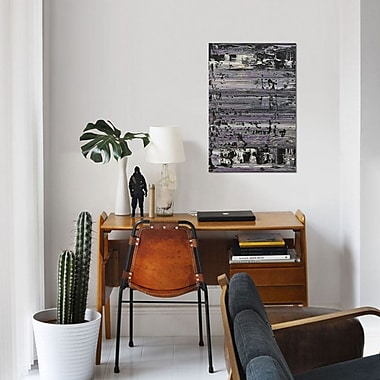East Urban Home 'Chicago' Painting Print on Canvas; 18'' H x 12'' W x 1.5'' D