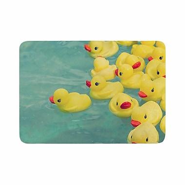East Urban Home Ann Barnes Escaping Normal Memory Foam Bath Rug; 0.5'' H x 24'' W x 36'' D