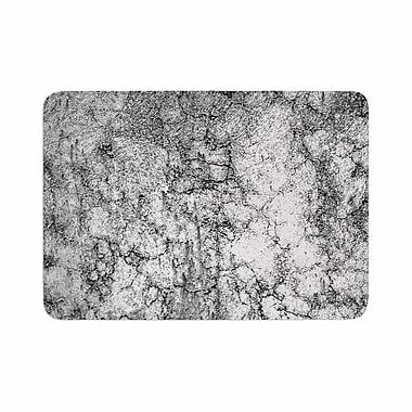 East Urban Home Ann Barnes Marble I Memory Foam Bath Rug; 0.5'' H x 17'' W x 24'' D
