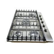 Hallman 30'' Stainless Steel Gas Cooktop